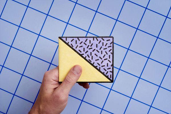 Бумажник New wallet - New memphis NW-116