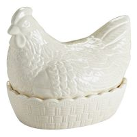 Подставка для яиц Hen кремовая 2010.019