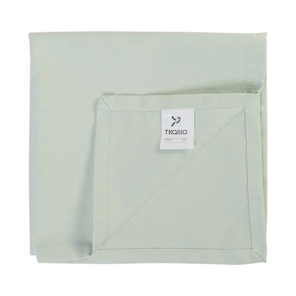 Салфетка сервировочная мятного цвета из коллекции Wild, 45х45 см TK19-NA0004