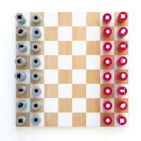 Деревянные шахматы CH1