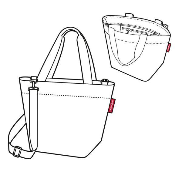 Сумка Shopper XS paisley ruby ZR3067