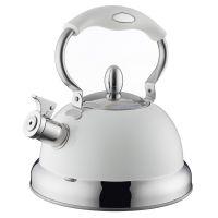 Чайник со свистком Living кремовый 1401.165V
