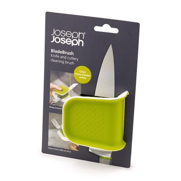 Щетка для столовых приборов и ножей BladeBrush зеленая 85105