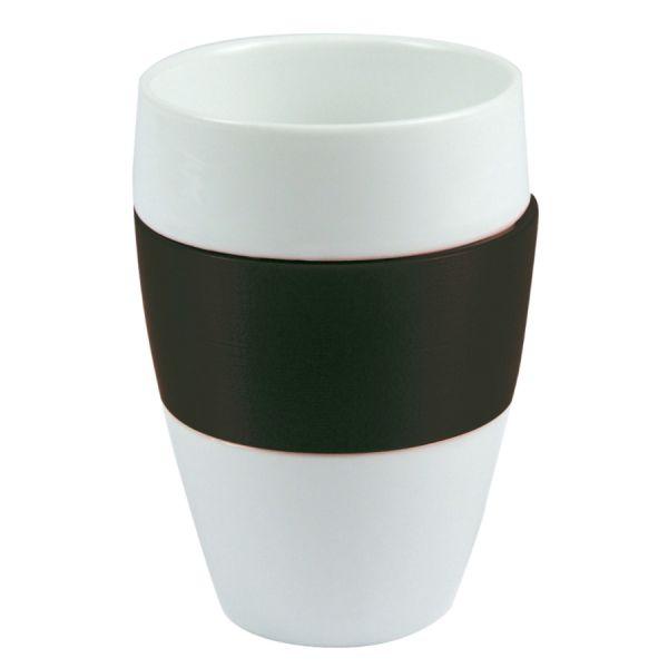 Чашка AROMA, 400 мл, чёрная 3564526