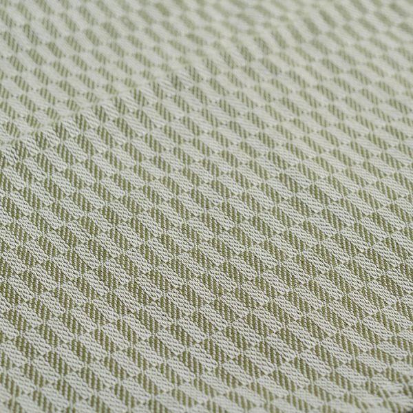 Полотенце жаккардовое кухонное  горчичного и оливкового цветов из коллекции Essential, 50х70 см TK19-TT0003