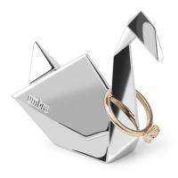 Держатель для колец Origami лебедь хром 1010122-158
