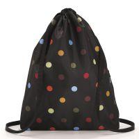 Рюкзак складной Mini maxi sacpack dots AU7009
