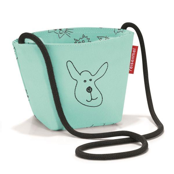 Сумка детская Minibag Cats and dogs mint IV4062