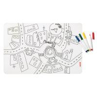 Набор из коврика-раскраски и 4 маркеров Bimbi 22609452