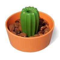 Миска для снеков Cacnuts, оранжевая с зеленым QL10284-OR-GN