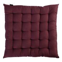 Подушка на стул бордового цвета из коллекции Wild, 40х40 см TK19-CP0004