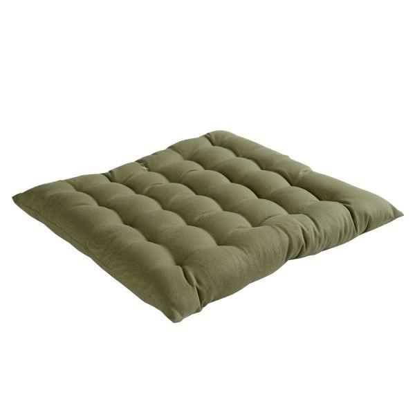 Подушка на стул оливкового цвета из коллекции Wild, 40х40 см TK19-CP0003