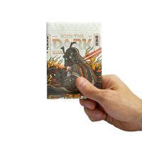 Обложка на паспорт New darkside белая NС-025