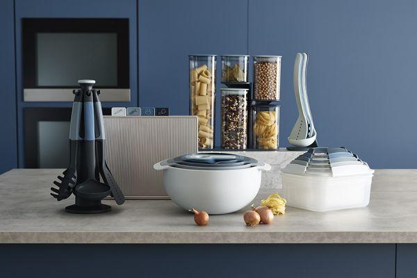 Ёмкость для хранения кухонных принадлежностей T&G 16x18,5 см цвет бежевый 10526