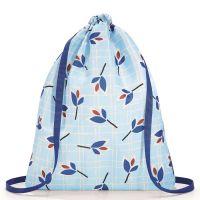 Рюкзак складной Mini Maxi Sacpack Leaves Blue AU4064