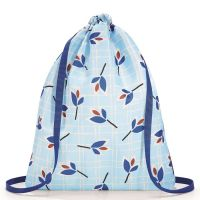 Рюкзак складной Mini Maxi Sacpack Leaves Blue AU4064