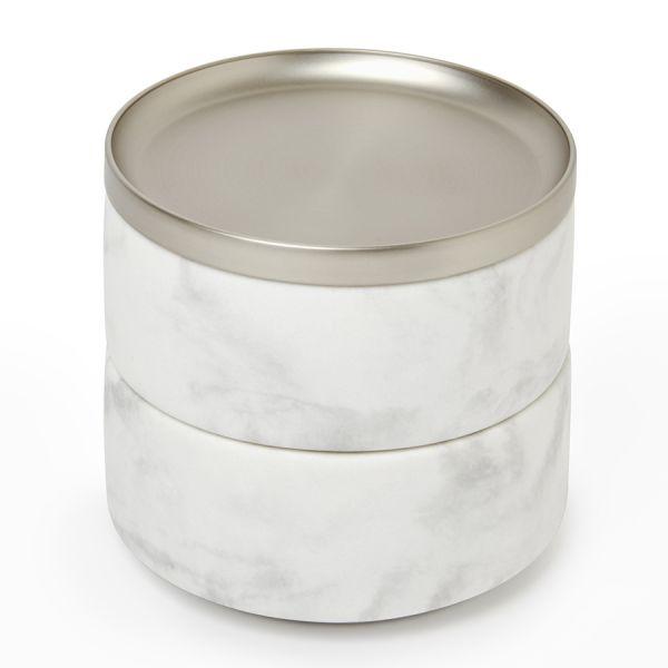 Шкатулка для украшений Tesora белая 299470-491