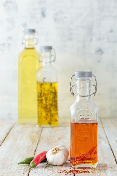 Бутылка Clip top с мерными делениями 600 мл K_0025.006V