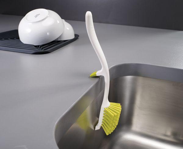 Щетка для мытья посуды Edge™ зеленая 85025