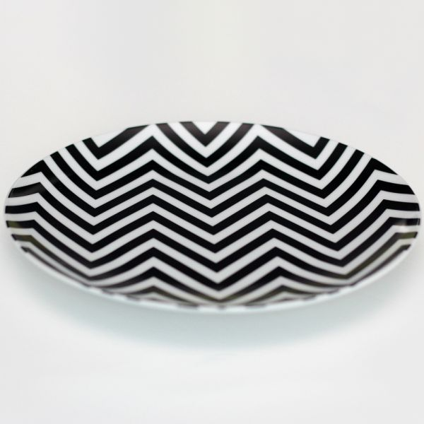 Набор керамических тарелок Zigzag 0066