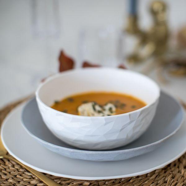 Тарелка суповая CLUB Organic,  D 22 см, зелёная 4006668