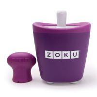 Набор для приготовления мороженого Single Quick Pop Maker фиолетовый ZK110-PU