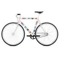 Наклейка на раму велосипеда Tonda RK08