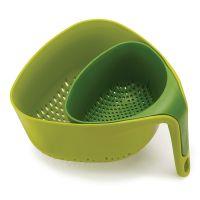 Дуршлаг Nest зеленый 40093