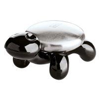 Металлическое мыло Amanda чёрное c посдтавкой 5875526