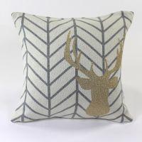Подушка с рисунком Golden Deer, 45х45 см en_ny0059