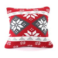 Подушка с орнаментом Christmas story, 45х45 см en_ny0057