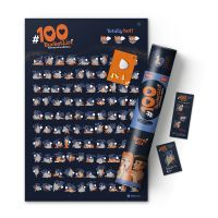 Интерактивный скретч постер #100 Bucketlist KAMASUTRA edition 4820191130159