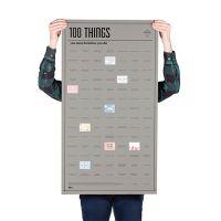 Постер «100 вещей, которые нужно сделать прежде чем умереть» DYPOSTTHE