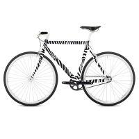 Наклейка на раму велосипеда Zebra RK02