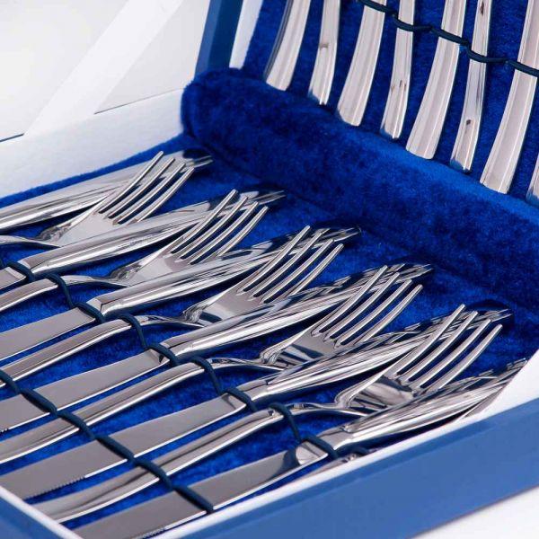 Набор столовых приборов Торжество 30 предметов М18 Нытва 3027