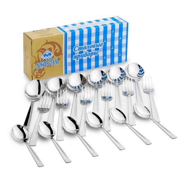 Набор столовый приборов Аппетит 18 предметов М15 Нытва А018