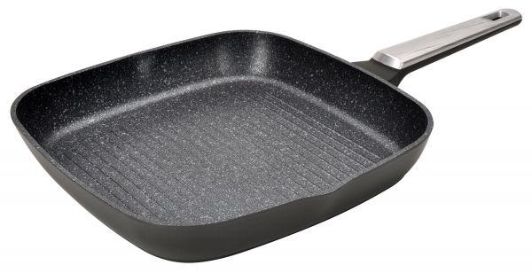 Сковорода-гриль 28x28х4,3 см Linea MONTI Regent Inox 93-AL-MN-6-28