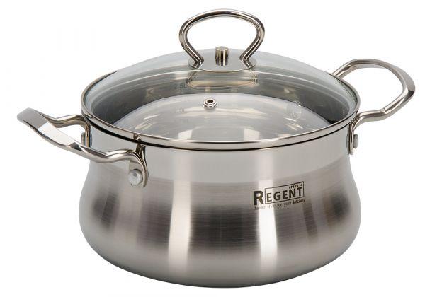 Кастрюля Regent Inox BELLA 2,6 л 18x10 см 93-BEv-03