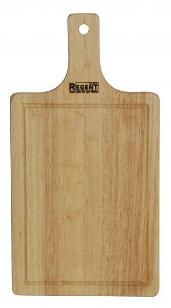 Доска разделочная прямоугольная с деревянной ручкой 33х17х1,2 см Bosco Regent Inox 93-BO-1-02