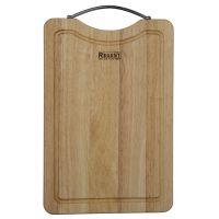 Доска разделочная прямоугольная с металлической ручкой 35х23,5х1,5 см Bosco Regent Inox 93-BO-2-07