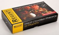 Набор столовых приборов 24 предмета Linea TRINITA Regent Inox 93-CU-TN-S24