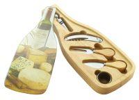 Набор для сыра и вина 7 предметов Linea FORMAGGIO Regent Inox 93-FG-S-13