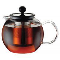 Чайник заварочный стеклянный 1л с пресс-фильтром Linea Franco Regent Inox 93-FR-TEA-03-1000