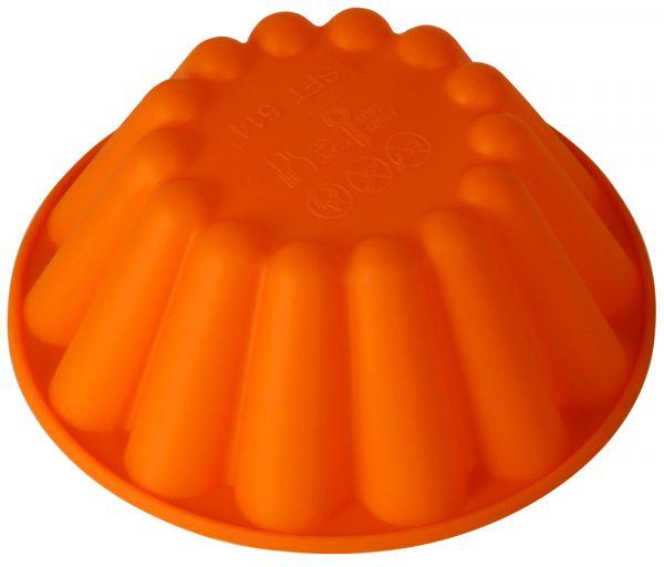 Форма для выпечки 'Ром баба' Linea Silicone 15х5 см Regent Inox 93-SI-FO-30