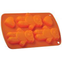 Форма для выпечки 'Три медведя' Linea Silicone 21х13х2 см Regent Inox 93-SI-FO-64