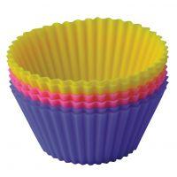 Набор форм для выпечки 'Тарталетки'7х3,5 см Linea Silicone Regent Inox 93-SI-S-17