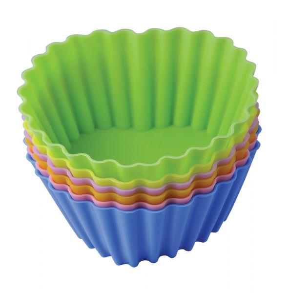 Набор форм для выпечки 'Тарталетки-сердца' 8х3,5 см Linea Silicone Regent Inox 93-SI-S-17.2