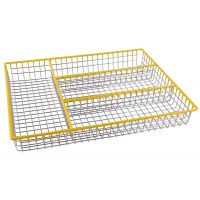 Подставка - лоток для столовых приборов 32х26х4 см Linea TRINA Regent Inox 93-TR-05-06