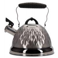 Чайник 2,4л со свистком Linea PROMO Regent Inox 94-1504