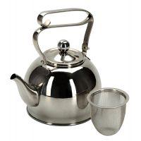 Чайник заварочный 0,8л с ситечком Linea PROMO Regent Inox 94-1509